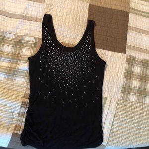 Sparkly tank top